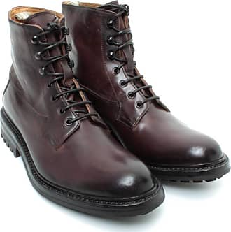 Officine Creative Mens Ankle Boots EXETER/004 Leather Brown