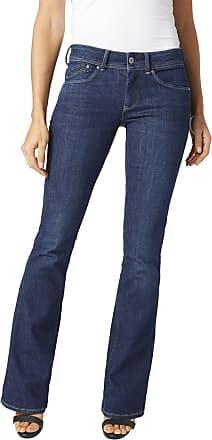 Modische Pepe Jeans Bootcut Jeans Damen Flared Jeans Grace
