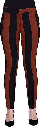 MySocks Regular Tailored Trousers Black Orange Stripe