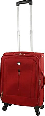 Mia Toro Italy Illeso Hardside Spinner Carry-on-Red
