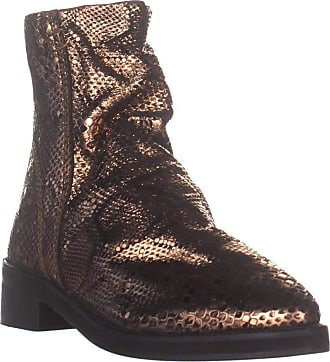 Free People Free People Womens Amarone Pointed Toe Ankle Fashion Boots, Bronze, Size 6.0 US US
