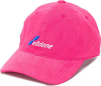We11done embroidered logo cap - PINK