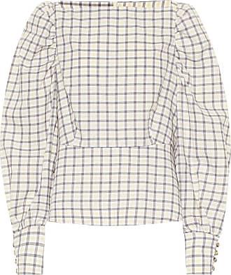 Baum Und Pferdgarten Exclusive to Mytheresa - Maribelle checked cotton top