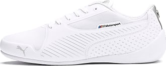 Puma Womens PUMA BMW M Motorsport Drift Cat 7 Ultra Trainers, White/Silver, size 10.5, Shoes