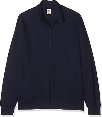 Fruit Of The Loom Mens Premium 70/30 Full Zip Sweatshirt Jacket (2XL) (Deep Navy)