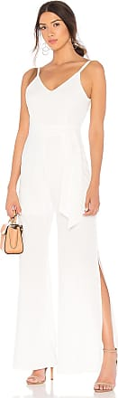 Line & Dot Marlien Jumpsuit in White