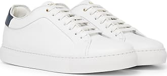 Paul Smith Basso Leather Sneakers - White