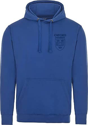 Oxford University Pocket Shield Hoodie - Royal Blue - 2XL