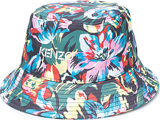 Kenzo Cappello bucket a fiori - Di colore verde