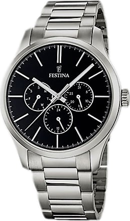 Festina Watch for Men, Steel, Stainless Steel, 2017, One Size