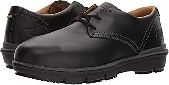 Timberland Boldon Oxford Alloy Safety Toe SD (Black Full Grain Leather) Mens Lace up casual Shoes