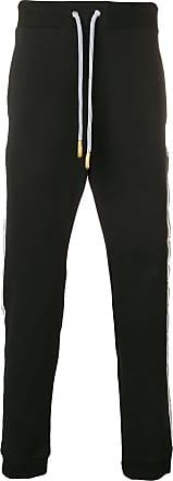 Versace Jeans Couture logo panel track pants - Black