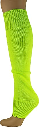MySocks Leg Warmers Plain Neon Yellow