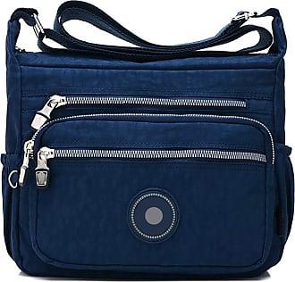 GFM Womens Nylon Cross Body Shoulder Bag (NCB-1) (S2-1218-GHNL)