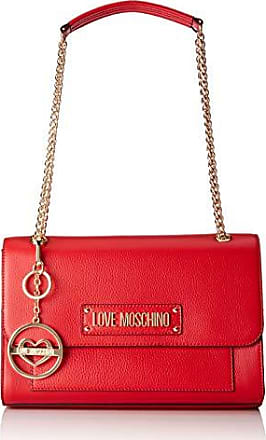Love Moschino Borsa Vitello Pebble Grain - Borse a spalla Donna 6e6eae461b1