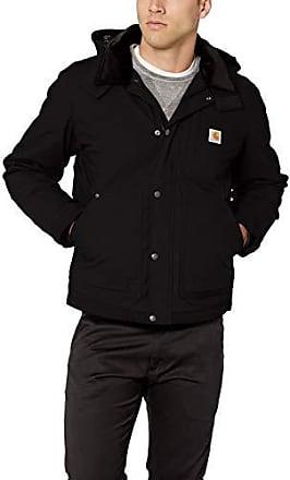 carhartt jacke sandstone hooded multi-pocket schwarz