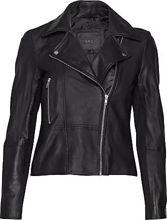 Vero Moda Yassophie Leather Jacket Noos Läderjacka Skinnjacka Svart YAS
