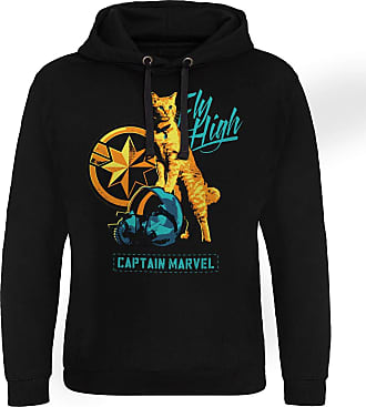 MARVEL Officially Licensed Fly High Epic Hoodie (Black), XX-Large