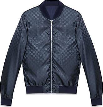 d7c32178899 Gucci Reversible GG Jacquard Nylon Bomber Jacket