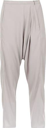 Uma Pepita cropped trousers - Grey
