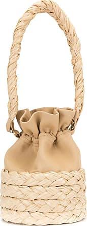 0711 medium Freja bucket bag - Brown