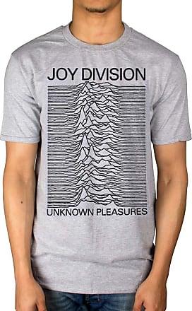 AWDIP Official Joy Division Unknown Pleasures T-Shirt, XXL, Grey