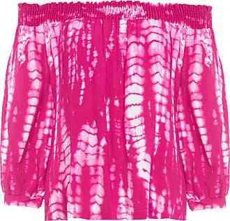 Shoulder Blusa Cigana Tie Dye - Rosa