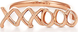 Tiffany & Co. Palomas Graffiti love & kisses ring in 18ct rose gold - Size 6 1/2