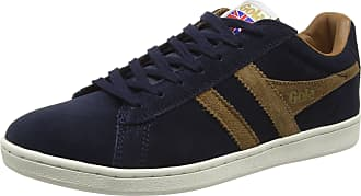 Gola Mens Equipe Suede Trainers, Blue (Navy/Tobacco Ef), 11 UK (45 EU)