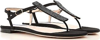 Stuart Weitzman Sandals for Women On Sale, Black, Suede leather, 2017, US 7.5 (EU 38) US 6.5 (EU 37) US 9.5 (EU 40) US 7 (EU 37.5)