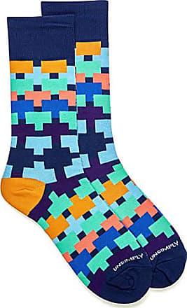 Unsimply Stitched Interlocking block socks