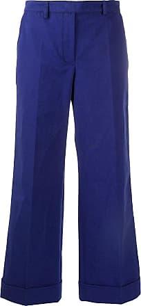 Philosophy di Lorenzo Serafini straight leg cropped trousers - Blue