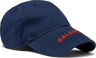 Balenciaga Logo-embroidered Cotton-twill Baseball Cap - Navy da46ca9e0ae