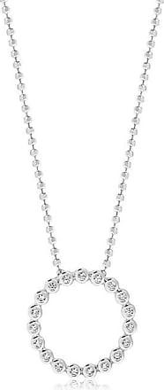 Sif Jakobs Jewellery Pendant Sardinien Circolo with white zirconia