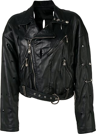 e5fbfc463f Versace Leather Jackets for Women − Sale: up to −55% | Stylight