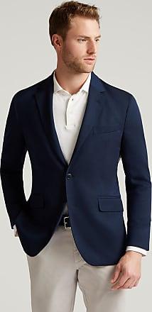 Hackett Mens Stretch Wool Water-Repellent Travel Blazer | Size 40Regular | Bright Navy