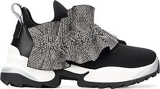 Sergio Rossi Extreme Sneakers mit Kristallen von Swarovski - Schwarz