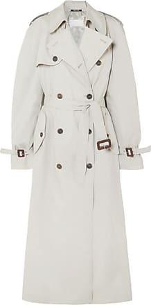Maison Margiela Cotton-blend Trench Coat - Beige