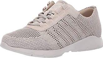 Dansko Womens Adrianne Sneaker, Ivory Washed Knit, 41 M EU (10.5-11 US)