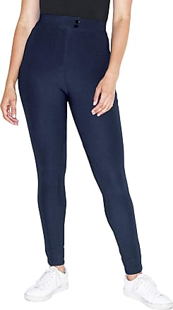 American Apparel Womens The Riding Pant Casual, Navy, Medium
