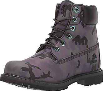 6 Inch Iridescent Premium Boots für Damen in Schwarz Camo