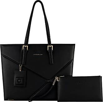 Scharlau Ryder Shopping Bag Black -Gold Limited Edition
