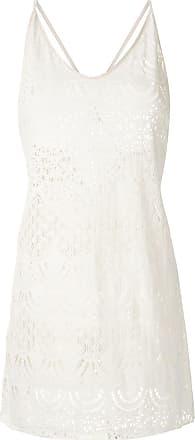 Track & Field Vestido de renda - Branco