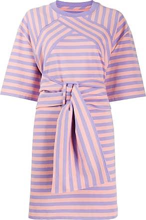 Marc Jacobs Vestido reto The Striped - Roxo