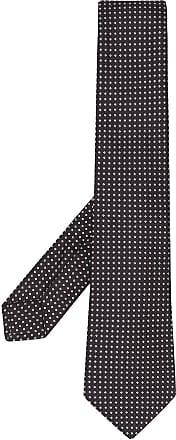 Kiton Krawatte mit Mikro-Print - Schwarz