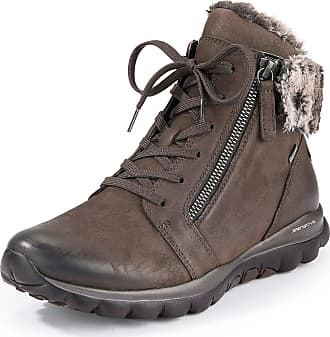 Gabor Water-repellent ankle boots Gabor Rolling-Soft-Sensitive brown