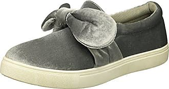 Yoki Womens Tia-123 Sneaker, Grey, 8.5 M US
