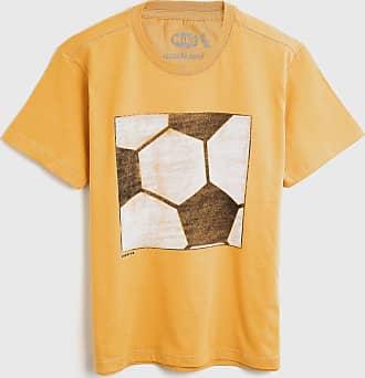 Reserva Mini Camiseta Reserva Mini Infantil Futebol Amarela