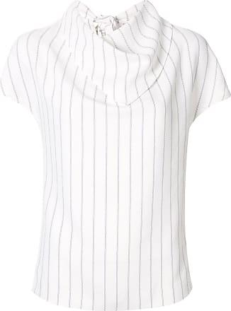 Dion Lee T-Shirt mit Schal - Weiß