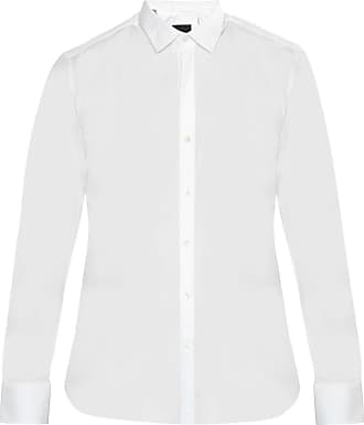 Lanvin Cotton Shirt Mens White